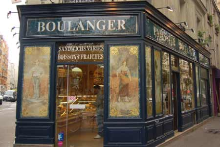 Devanture boulangerie fonds de commerce